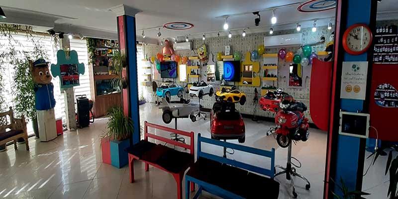 آرایشگاه کودک در تهران و کرج