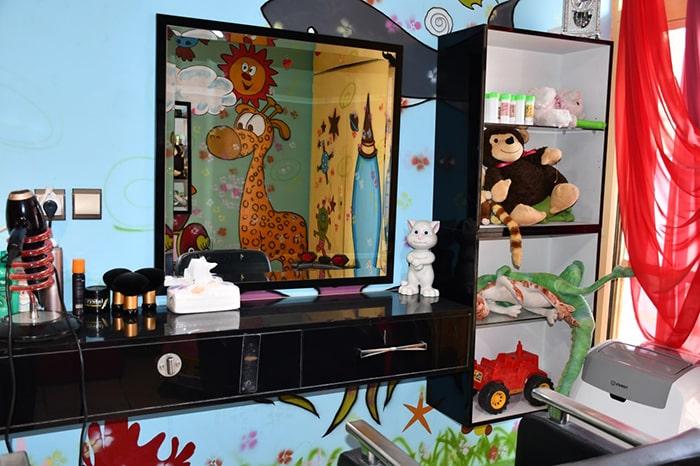 آرایشگاه تخصصی موی نوزاد