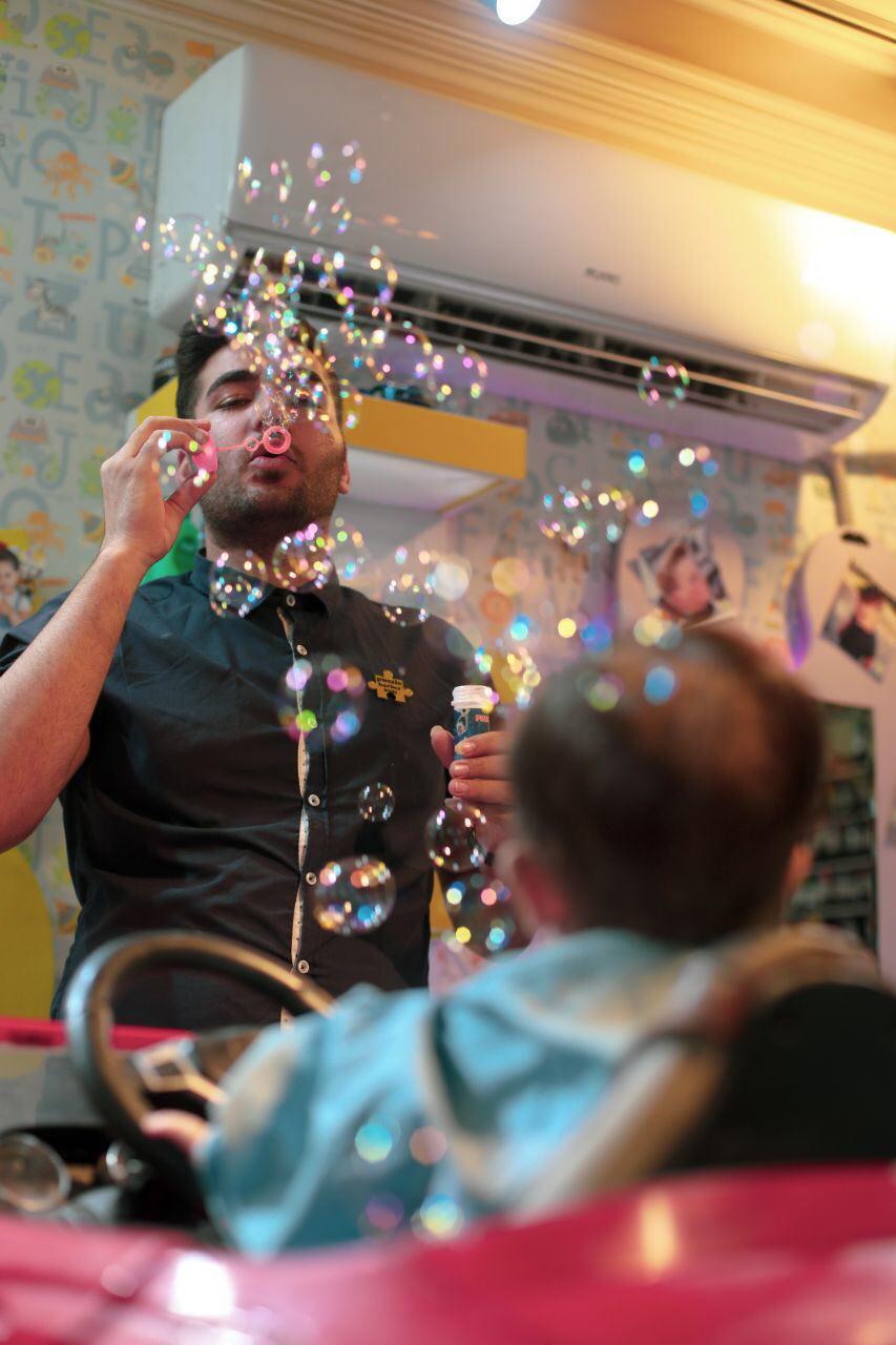 آرایشگاه موی نوزاد در تهران و کرج